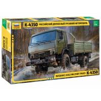 3692 Российский двухосный грузовой автомобиль К-4350