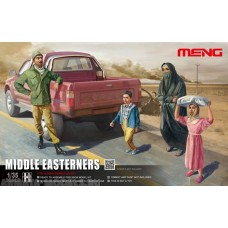 HS-001 Middle Easteners in the street Meng, 1/35
