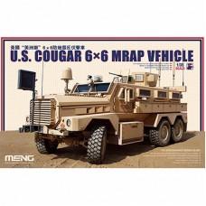 """MENG"" SS-005 ""БРОНЕТРАНСПОРТЕР"" U.S. COUGAR 6X6 MRAP VEHICLE 1/35"