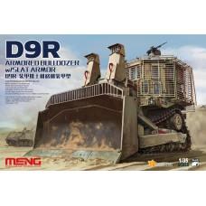 SS-010 Meng 1/35 D9R Armored Bulldozer w/Slat Armor