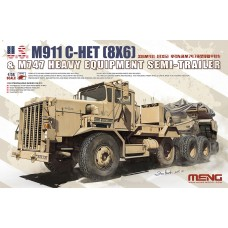 "SS-013 ""ТЯГАЧ"" U.S. M911 C-HET(8X6) & M747 HEAVY EQUIPMENT SEMI-TRAILER 1/35"