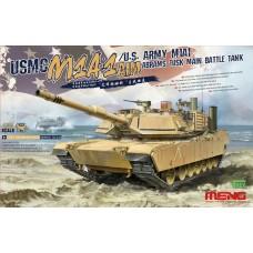 """TS-032 """"ТАНК"""" USMC M1A1 AIM/U.S. ARMY M1A1 ABRAMS TUSK MAIN BATTLE TANK"""