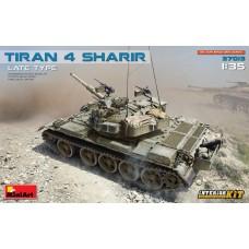37013 Израильский танк Tiran 4 Sharir с интерьером