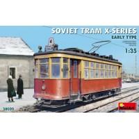 38020 MiniArt 1/35 Советский трамвай серии-Х раннего типа