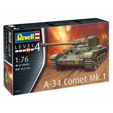 REVELL БРИТАНСКИЙ КРЕЙСЕРСКИЙ ТАНК A-34 COMET MK.1 (1:76)