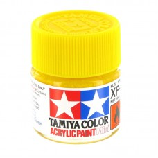 XF-3 FLAT YELLOW, ACRYLIC PAINT MINI 10 ML. (ЖЁЛТЫЙ МАТОВЫЙ) TAMIYA