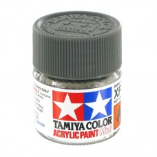 XF-24 DARK GREY FLAT, ACRYLIC PAINT MINI 10 ML. (ТЁМНО-СЕРЫЙ МАТОВЫЙ) TAMIYA