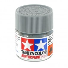 XF-66 LIGHT GREY FLAT, ACRYLIC PAINT MINI 10 ML. (СВЕТЛЫЙ СЕРЫЙ МАТОВЫЙ) TAMIYA