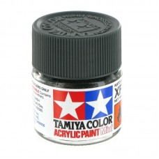 XF-69 NATO BLACK FLAT, ACRYLIC PAINT MINI 10 ML. (НАТО ЧЁРНЫЙ МАТОВЫЙ) TAMIYA