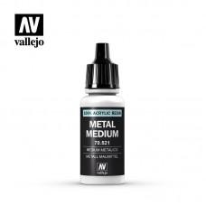 Металлик медиум  для 3-х типов краски: Model Air, Model Color и Game Color
