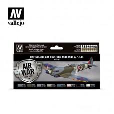 71162 Набор Model Air - WWII RAF DAY EUROPEN (8цв.)