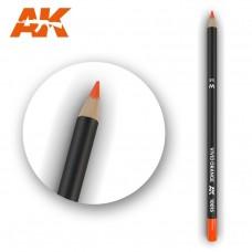 """Акварельный карандаш """"Оранжевый"""" / Watercolor Pencil Vivid Orange"""