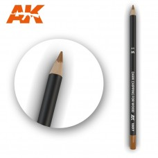 """Акварельный карандаш """"Темные сколы для дерева"""" / Watercolor Pencil Dark Chipping for wood"""