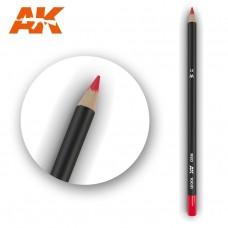 """Акварельный карандаш """"Красный"""" / Watercolor Pencil Red"""