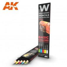 """Набор акварельных карандашей """"Основные цвета"""" / WATERCOLOR PENCIL SET BASICS"""