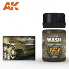 Смывка для нанесения эффектов DARK YELLOW WASH (смывка для тёмно-желтого)