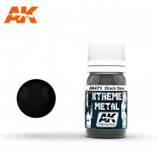 XTREME METAL BLACK BASE 30мл (металлик, черная основа)