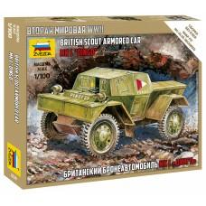 "Британский бронеавтомобиль Даймлер Мк-1 ""Динго"""