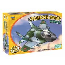 Детский российский самолет истребитель