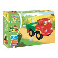 Игрушка конструктор - детский грузовичок