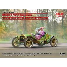 24026 автомобили и мотоциклы Model T 1913 Speedster c американскими автоспортсменами