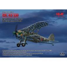 32021 ICM CR. 42 LW, Штурмовой самолет ВВС Германии II МВ, 1/32