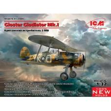 Gloster Gladiator Mk.I, Британский истребитель IIМВ