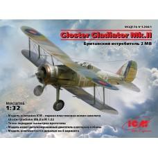 Gloster Gladiator Mk.II, Британский истребитель II МВ.