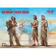 Фигуры, Летчицы на службе ВВС США (1943-1945 г.) (3 фигуры)
