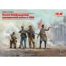 35021 фигуры Пехота Конфедерации Гражданской войны в США (1:35)