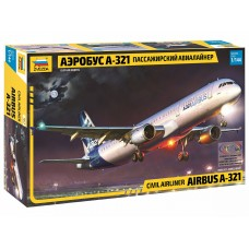 Пассажирский авиалайнер Аэробус А-321