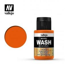 76507 Vallejo жидкость для тонировки модели ( смывка ) Model Wash Dark Rust / Ржавчина Темная 35 мл.