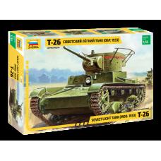 Советский легкий танк Т-26 (обр. 1933 г.)