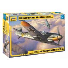 """Немецкий истребитель """"Мессершмитт BF 109 G6"""
