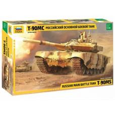 3675 Звезда сборная модель Российский основной боевой танк Т-90МС масштаб 1/35