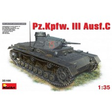 35166 1/35 Немецкий танк Pz.Kpfw. III Ausf.C