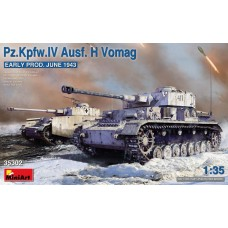 35302 MiniArt 1/35 Танк Pz.Kpfw.IV Ausf. H Vomag, ранняя версия. Июнь 1943