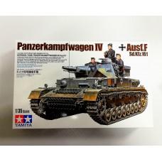 35374 1/35 Tamiya немецкий средний танк Panzerkampfwagen IV Ausf.F