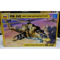 4812 Звезда Советский ударный вертолёт Ми-24П масштаб 1/48
