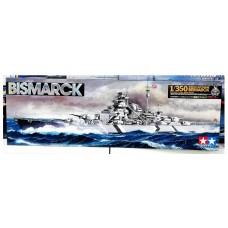"78013 Tamiya Немецкий линкор ""Bismarck"" масштаб 1/350"