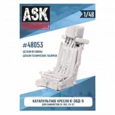 ASK48053 1/48 Кресло К-36Д-5 (для самолетов Су-35, Су-57)+декали