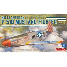 LS-006 MENG сборная модель Американский самолёт P-51D Mustang масштаб 1/48