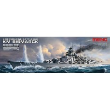 PS-003 Meng 1/700 German Battleship Bismarck