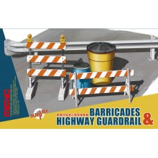 "SPS-013 ""ОГРАЖДЕНИЕ"" BARRICADES & HIGHWAY GUARDRAIL SET 1/35"