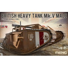 "TS-020 ""ТАНК"" BRITISH HEAVY TANK MK.V MALE 1/35"