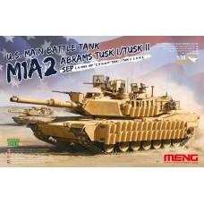 "TS-026 ""ТАНК"" U.S. MAIN BATTLE TANK M1A2 SEP ABRAMS TUSK I/TUSK II 1/35"