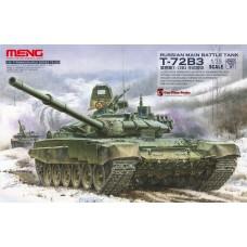 "TS-028 ""ТАНК"" RUSSIAN MAIN BATTLE TANK T-72B3 1/35"