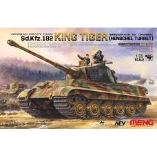 "TS-031 ""ТАНК"" SD.KFZ.182 KING TIGER (HENSCHEL TURRET)"