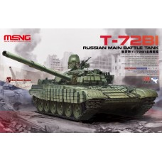 "TS-033 ""ТАНК"" RUSSIAN MAIN BATTLE TANK T-72B1"