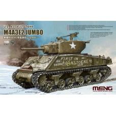 TS-045 MENG сборная модель Танк US Assault Tank M4E3A2 Jumbo масштаб 1/35